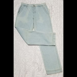 VTG Trouser Style Chambray Jeans